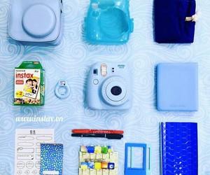 fujifilm, blue, and camera image