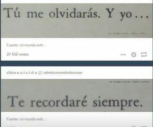 love, tumblr, and olvido image