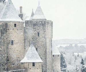 france, snow, and winter image