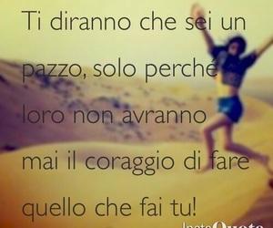 crazy, text, and frasi italiane image