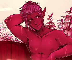 Hot, origins, and dragon age image