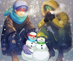 snowman, splendid, and happy tree friends image