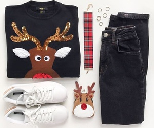 christmas, clothes, and clothing image