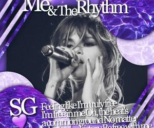 edit, purple, and selena gomez image