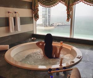 luxury, bath, and Dubai image