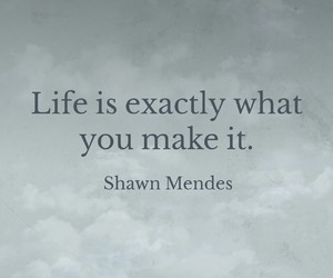 shawn mendes, life, and quotes image