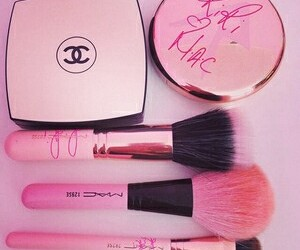 pink, mac, and chanel image