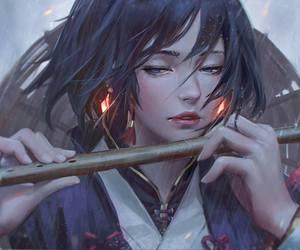 art, anime, and digital art image