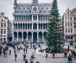 city, christmas, and adventure image