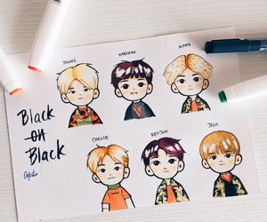 fanart, cute, and nct dream image