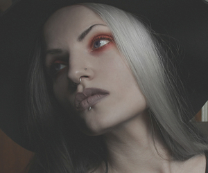 alternative, gothic, and gothic girl image