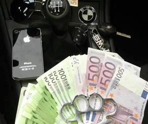 money, iphone, and bmw image