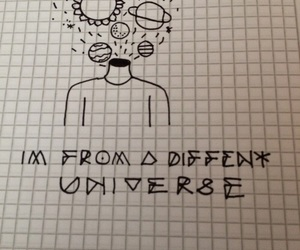 black, planets, and draw image