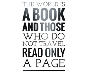 book, page, and travel image
