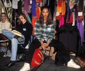 model, tyra banks, and 90s image