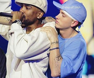eminem, big proof, and friends image