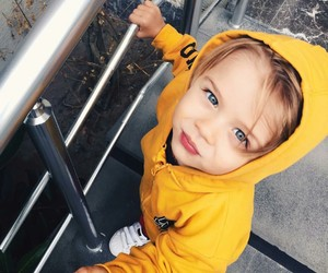 baby, beau, and blue eyes image
