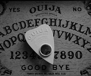 ouija, ouija board, and ghost image