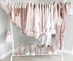 dressing, pink, and rose image