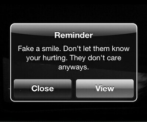reminder, quotes, and smile image