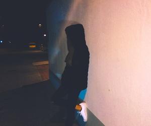 night woman image