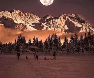 beautful, winter, and switzerland image