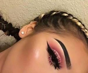 beautiful, blush, and braids image