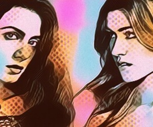 clary fray, isabelle lightwood, and shadowhunters image