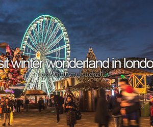 before i die, christmas, and london image