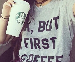 clothes, coffee, and tumblr image