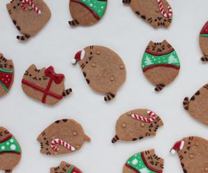 Cookies and pusheen image