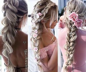 cabelo, tranças, and penteados image