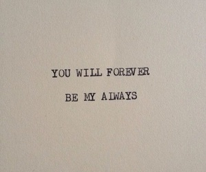 always, forever, and book image