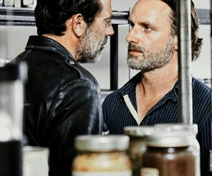 negan, twd, and jeffrey dean morgan image