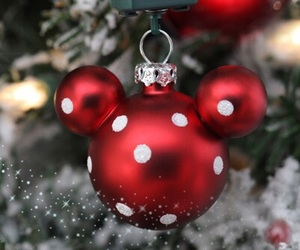 christmas, red, and disney image