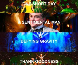 defying gravity, songs, and wicked image