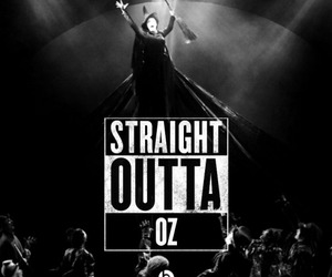 defying gravity, wicked, and elphaba image