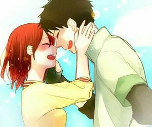 fan art, anime couple, and akagami no shirayuki hime image