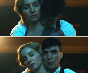 grace, tommy, and peaky blinders image