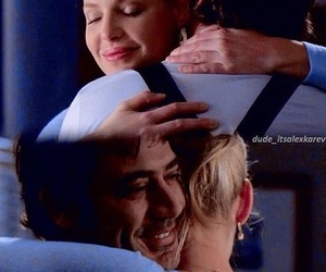 grey's anatomy, izzie and denny, and love image