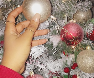 christmas, couple, and kanye image