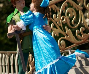 disney, disneyland, and peter pan image