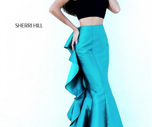 sherri hill 50750 and mermaid gown prom 2017 image