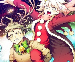 super danganronpa 2, both bishies, and komahina image