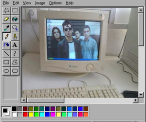 am, arctic monkeys, and band image