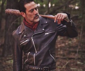 negan, the walking dead, and jeffrey dean morgan image