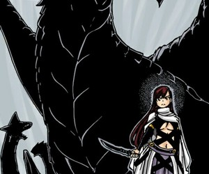 manga, fairy tail, and eileen belserion image