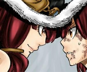 manga, fairy tail, and erza+scarlet+ image