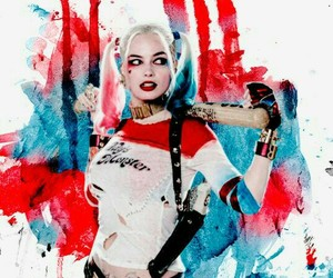 harley quinn, margot robie, and suicide squad image