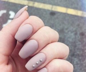 nail art, nails, and girl image